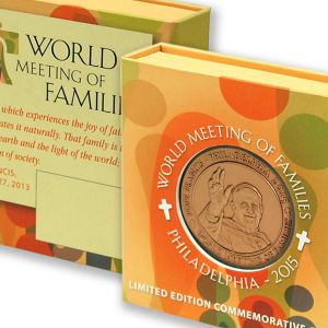World Meeting of Families - Pope Francis Commemorative Coin