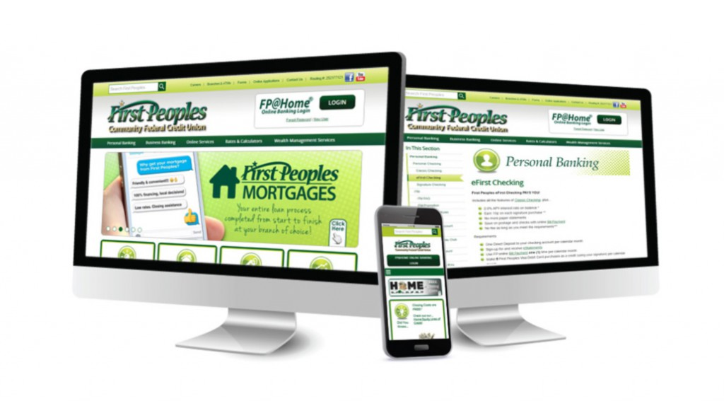 First Peoples FCU Website Design